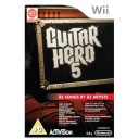 Nintendo Wii Guitar Hero 5